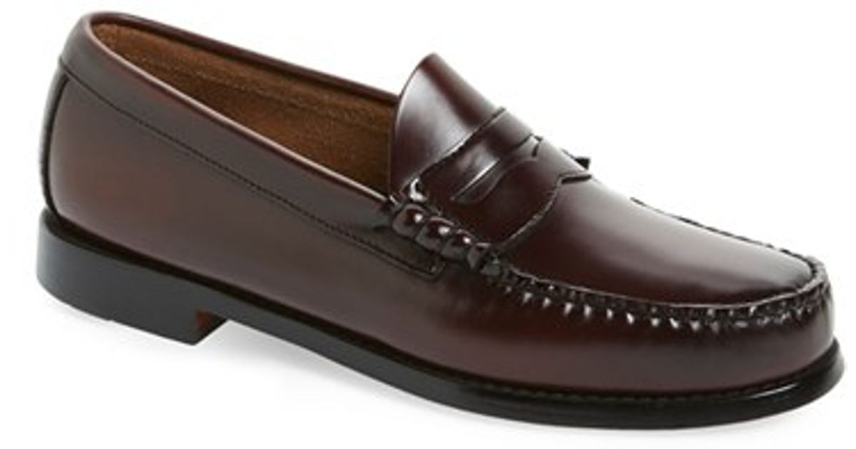 G.h. bass & co. 'larson - Weejuns' Penny Loafer in Purple ...