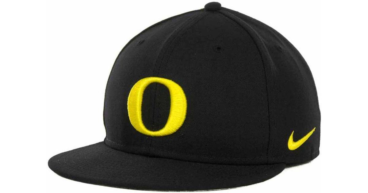 d246efe22 good black oregon ducks fitted hat c4ef2 65ff4