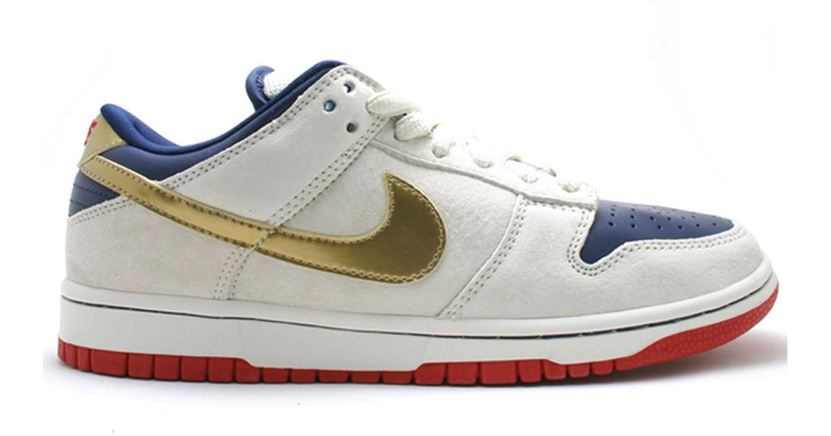 official photos 91fdc dddfb Lyst - Nike Sb Old Spice Dunk Low in White for Men old nike sb shoes