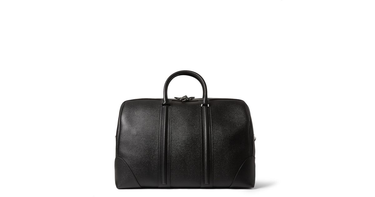 7751410d47 Givenchy Large Textured-Leather Weekend Bag in Black for Men - Lyst