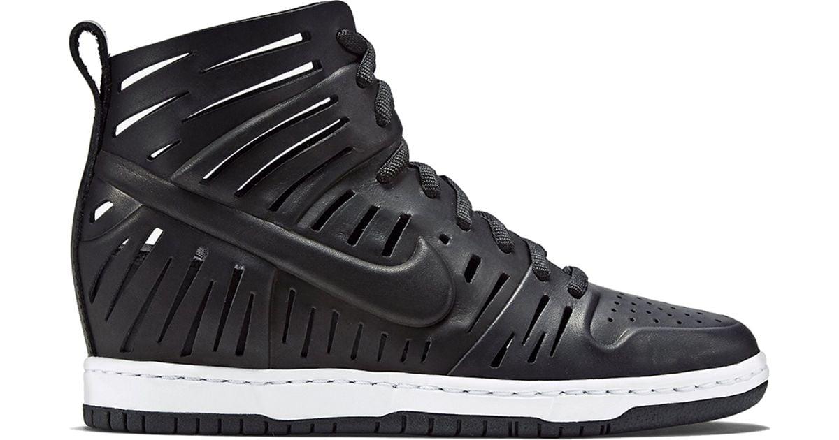 0ebe11582e92 Lyst - Nike Wmns Dunk Sky Hi 2.0 Joli in Black