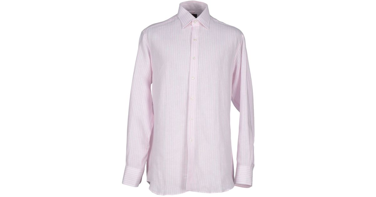emma willis shirts ~ emma willis shirt in pink for men  lyst