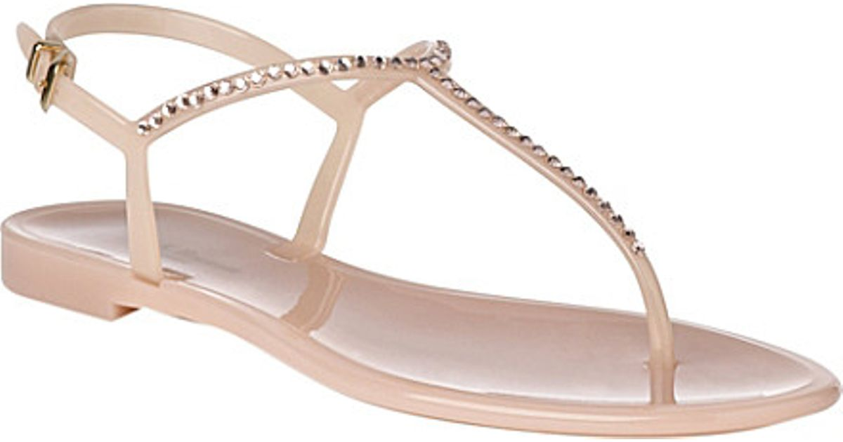 5c2a703e3cac Lyst - L.K.Bennett Lola Jelly Sandals in Pink