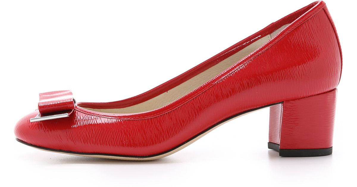 8e0f7d75ef84 Michael Michael Kors Kiera Mid Pumps - Chili in Red - Lyst