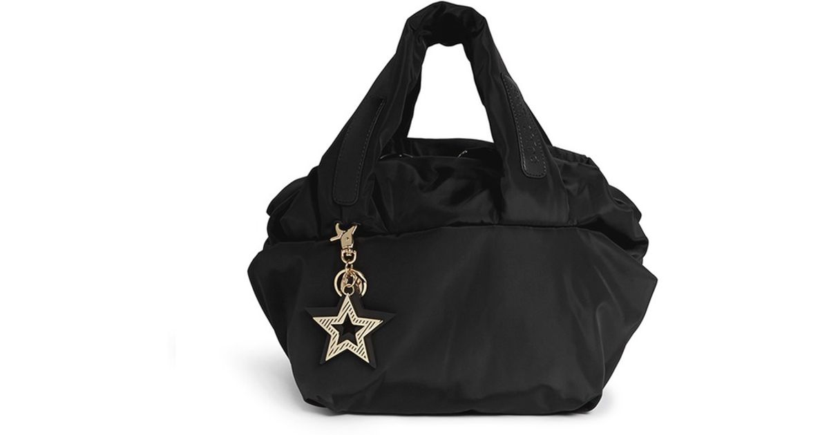 See By Chloé  joy Rider  Small Nylon Bag in Black - Lyst ca67c3ef56