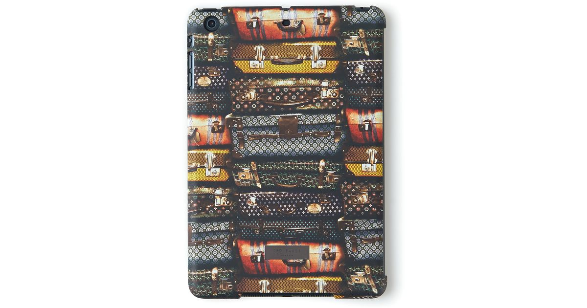 ff011bf1d Ted Baker All Over Suitcase Print Ipad Cover for Men - Lyst