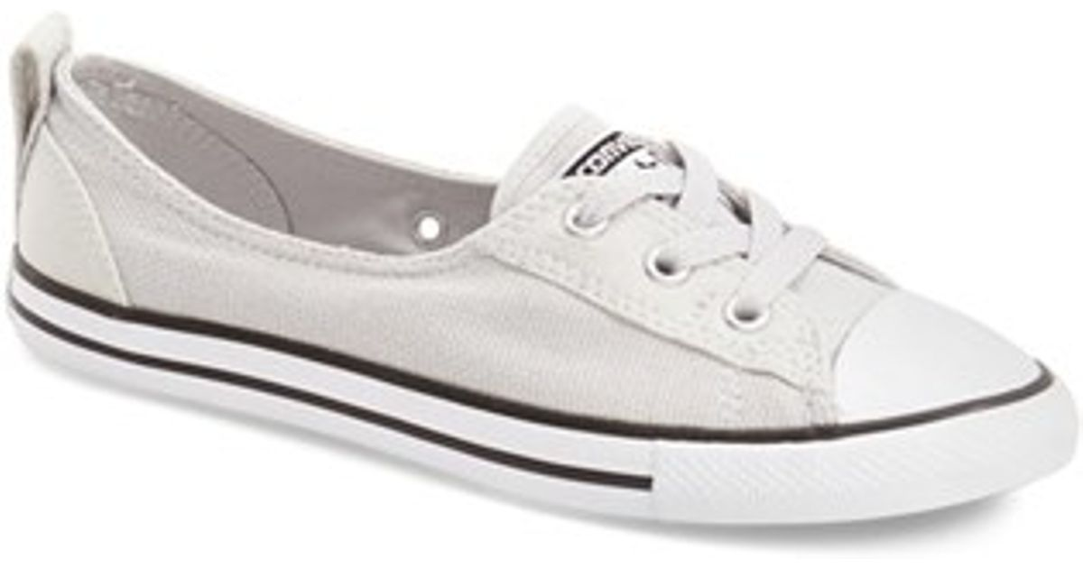 d3780a809a0d95 Lyst - Converse Chuck Taylor All Star Ballet Canvas Sneaker in White