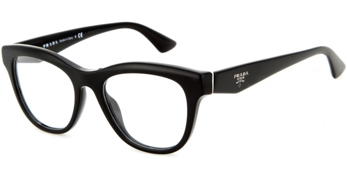 Lyst - Prada D Frame Optical Glasses in Black