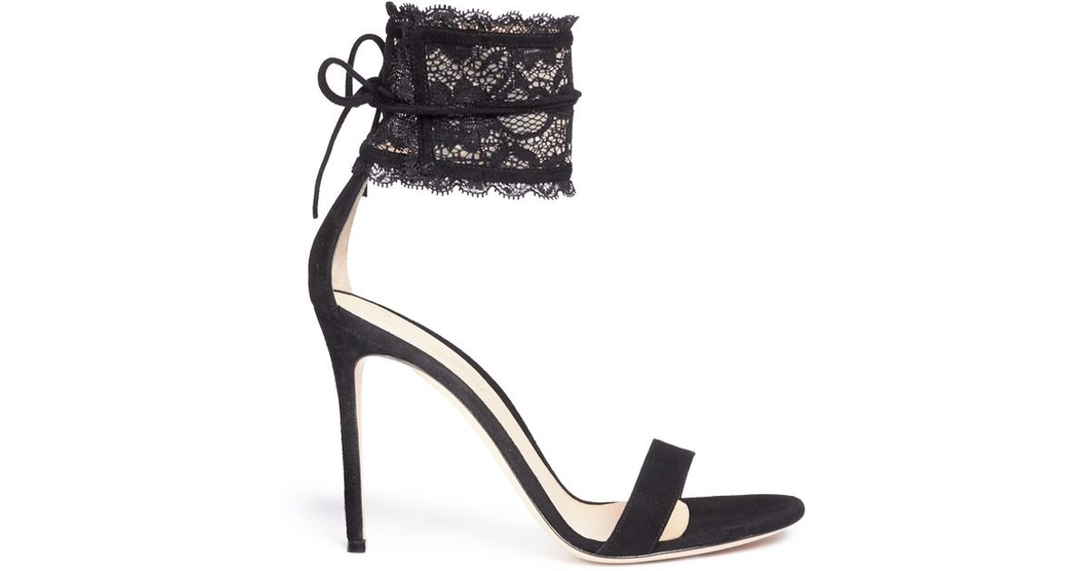 sale with mastercard Gianvito Rossi lace detail sandals 2014 unisex for sale fake cheap online authentic cheap sale very cheap qwZ4aO