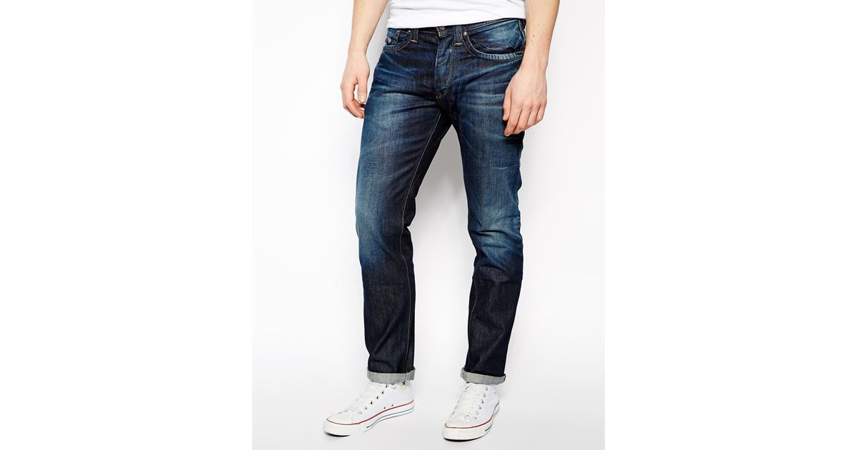 Lyst - Pepe Jeans Cash Heritage Dye in Blue for Men a15d374400