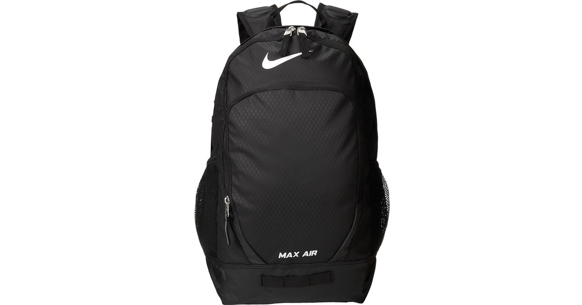 9119651f4c9c Lyst - Nike Team Training Max Air Large Backpack in Black for Men