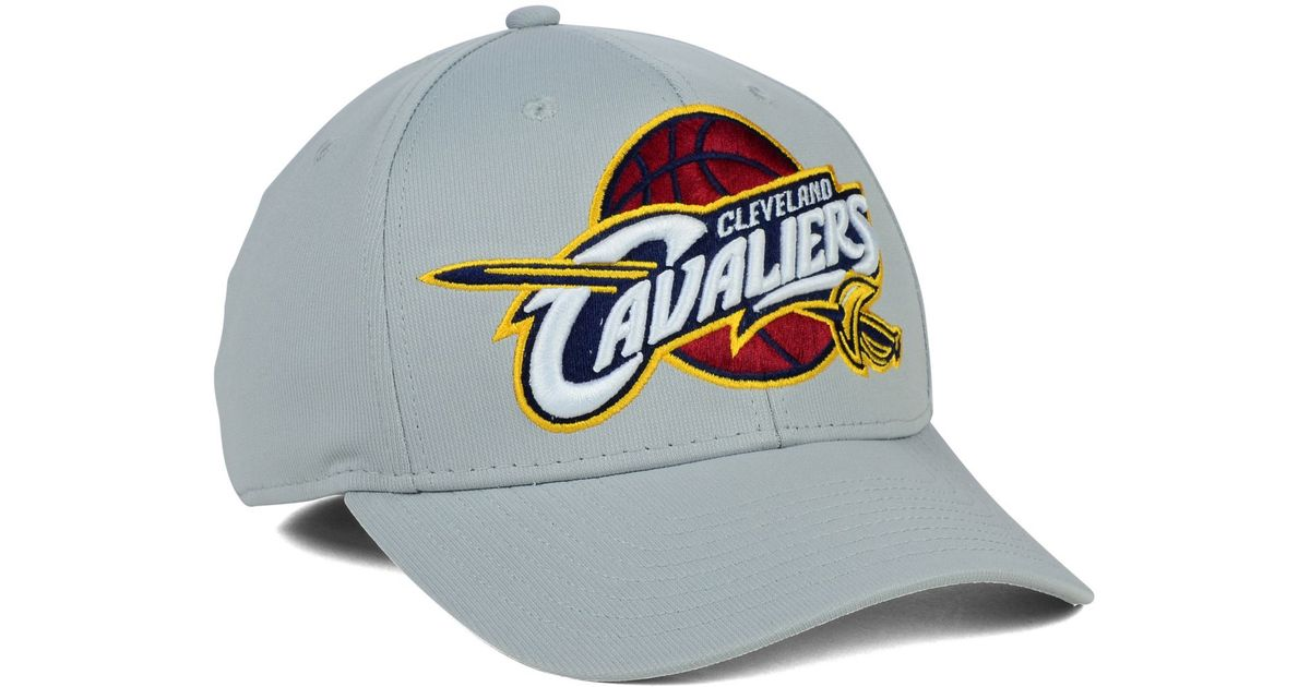 44f57c51b5c Lyst - Adidas Cleveland Cavaliers Run and Gun Flex Cap in Gray