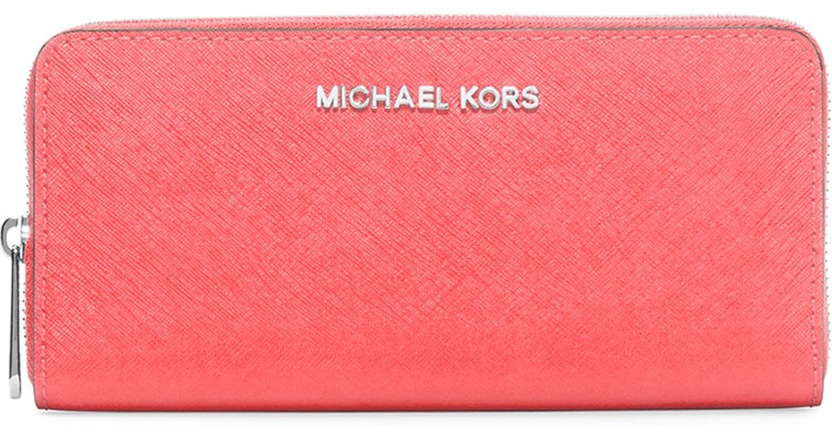 cdc730a0dadf Michael Kors Saffiano Wallet Pink | Stanford Center for Opportunity ...