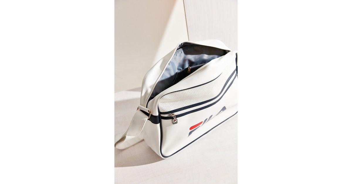 7da9b25f66 Lyst - Fila + Uo Docena Messenger Bag in White