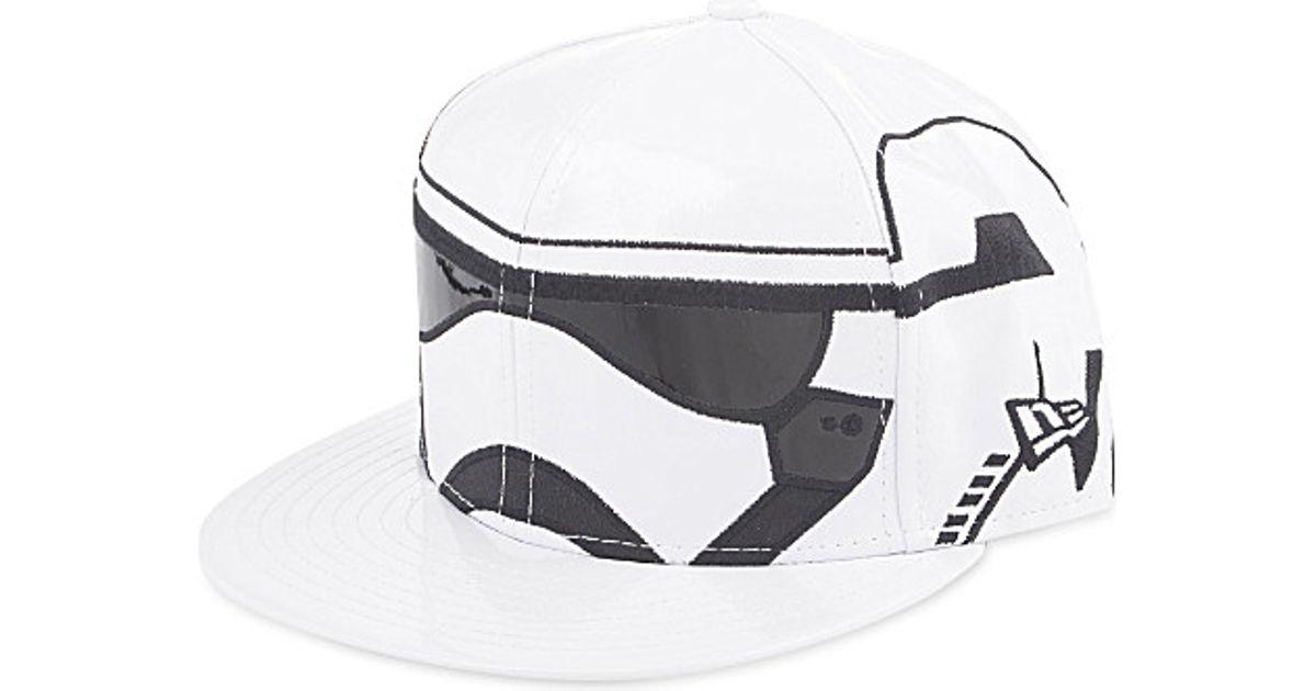 d8ad2a4ea KTZ - Star Wars Stormtrooper Fitted Cap, Men's, Size: 7 3/8, Black for Men  - Lyst