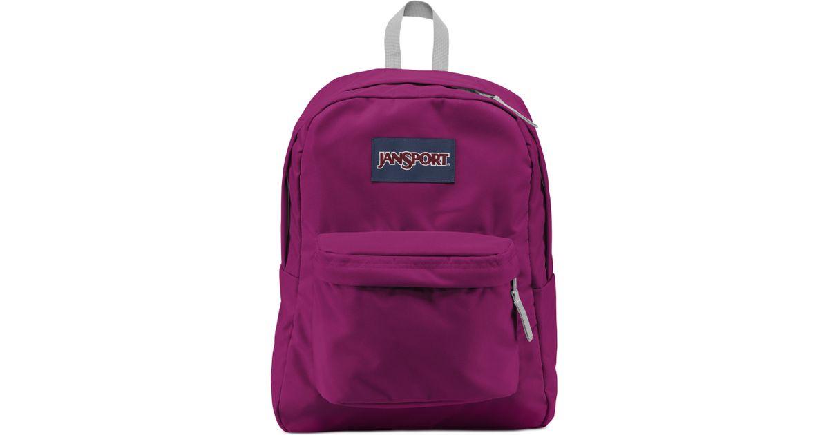 online retailer a245b dd62b Jansport Superbreak Backpack in Purple for Men - Lyst