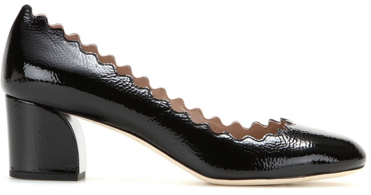 Lauren velvet pumps - Black Chloé wjnn4