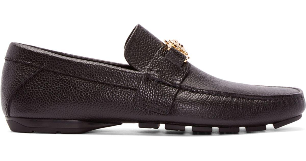 Versace Black Medusa Loafers Dm8IvmTdVG