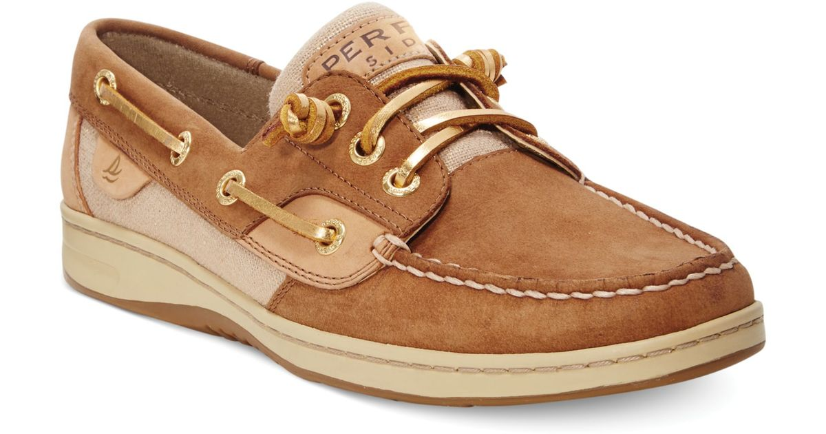 Lyst - Sperry Top-Sider Womens Ivyfish Metallic Boat Shoes in Brown 1575288816
