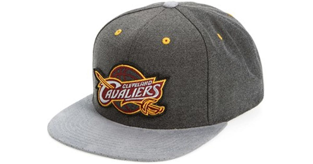 d175a1c900cac6 ... italy lyst mitchell ness cleveland cavaliers snapback cap in gray for  men 3ae06 55a4b