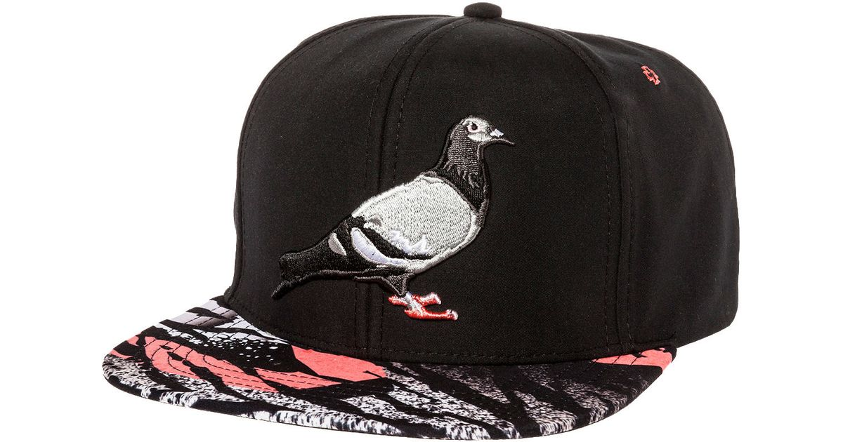 Lyst - Staple The Lava Pigeon Snapback in Black for Men aeb14123a54