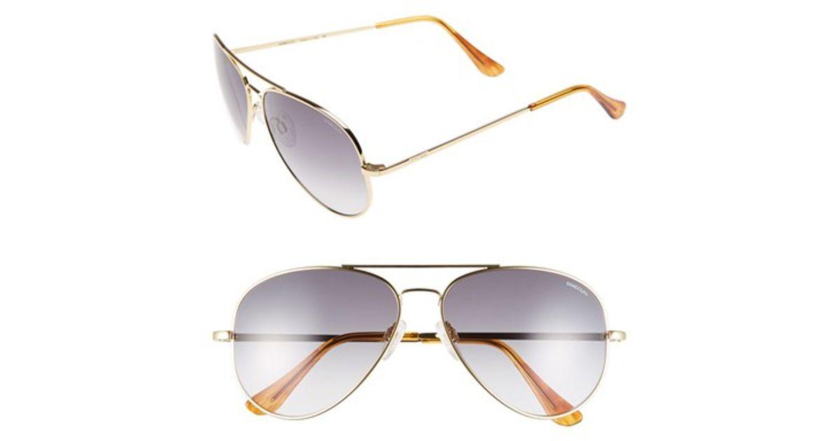 a31e988fd5 Lyst - Randolph Engineering  concorde  61mm Aviator Sunglasses - 23k Gold   Gray Gradient in Metallic for Men