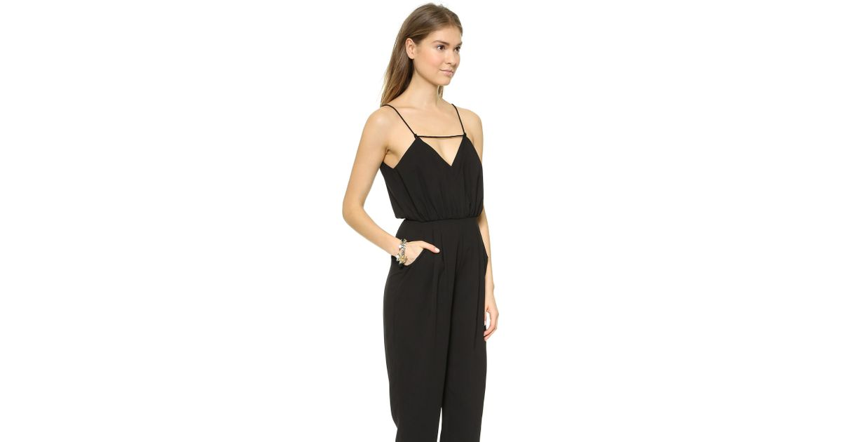 1a16c0b8658b Lyst - Finders Keepers The Someday Jumpsuit - Black in Black