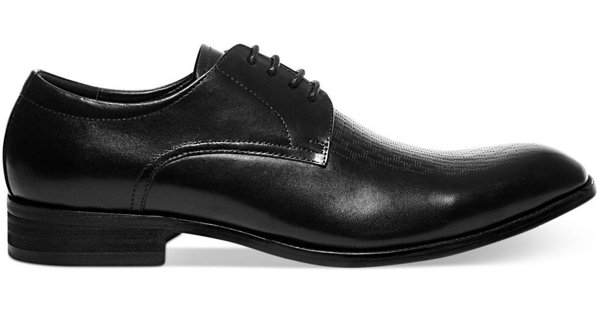 f1791eeaf20 Lyst Steve Madden Jonah Lazer Etched Dress Shoes In Black For Men