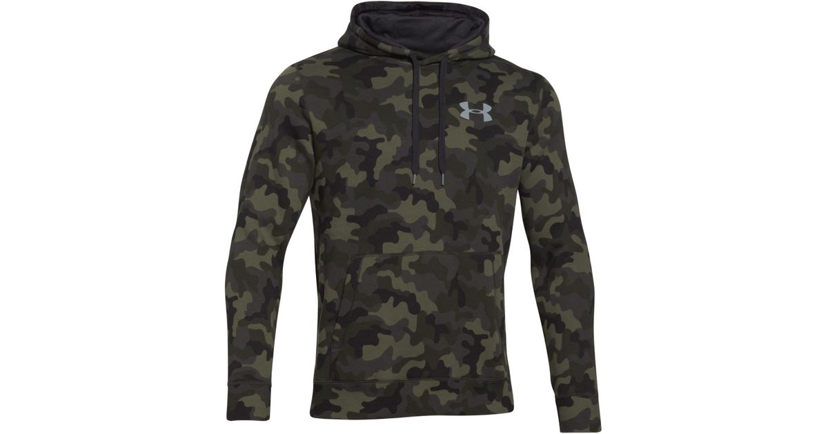 Under armor camo hoodie