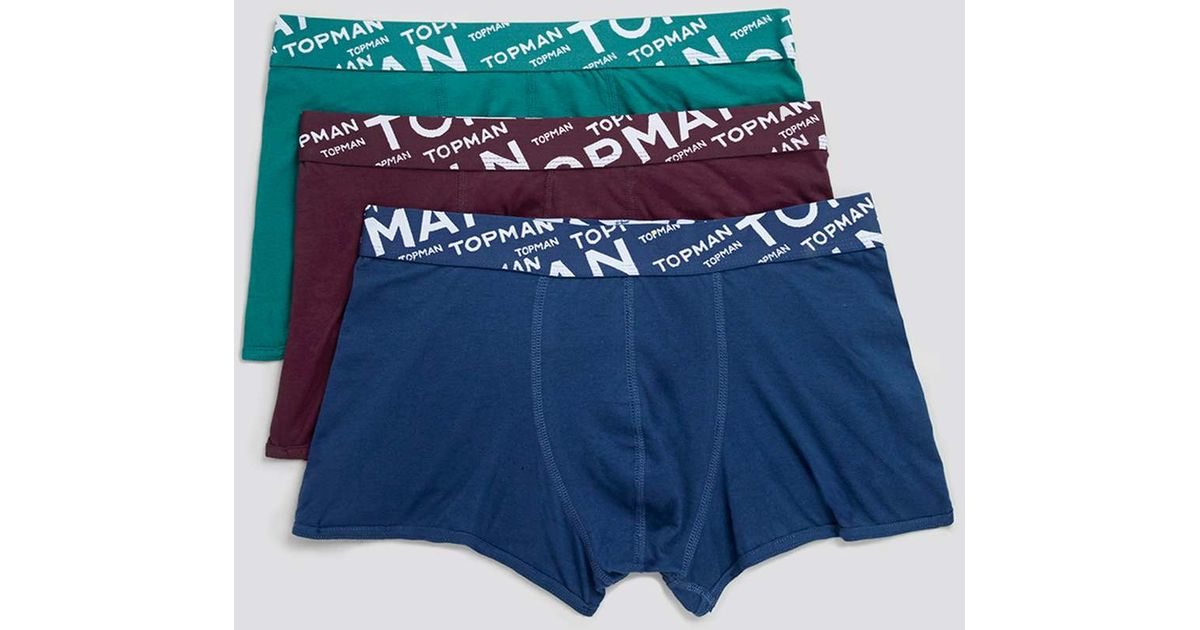 select for clearance free delivery special discount TOPMAN Multicolor Multi Hipster 3 Pack Underwear for men