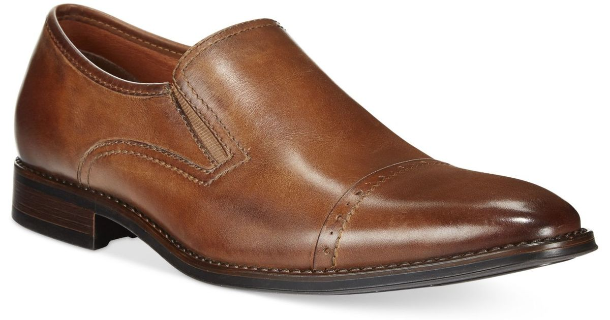 Kenneth Cole Knight School Cap Toe Slip On Shoes