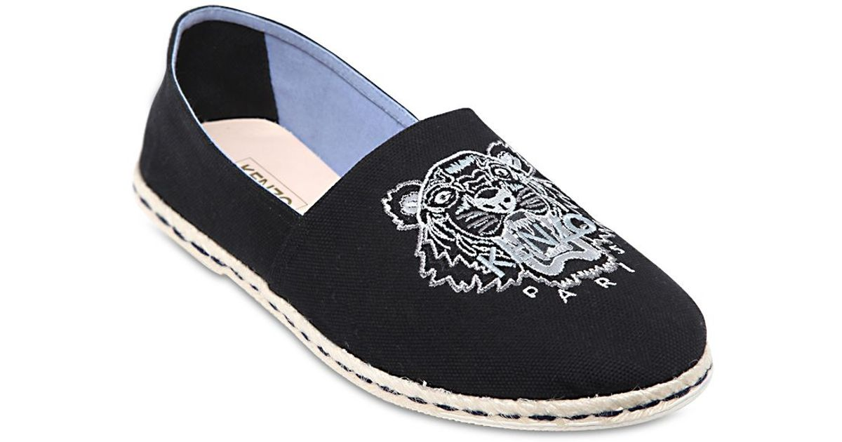Fantastic Kenzo Womens Blue Bamboo Tiger Espadrilles  Daynightcool