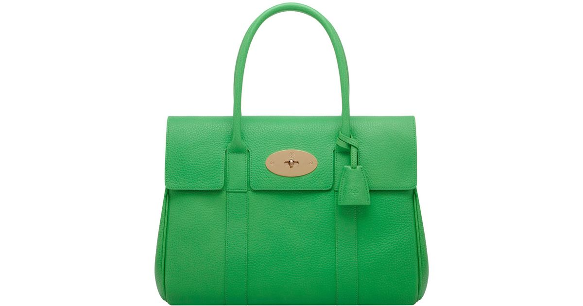 1eef594069de ... where can i buy lyst mulberry queens green bayswater tote in green for  men 96223 35546