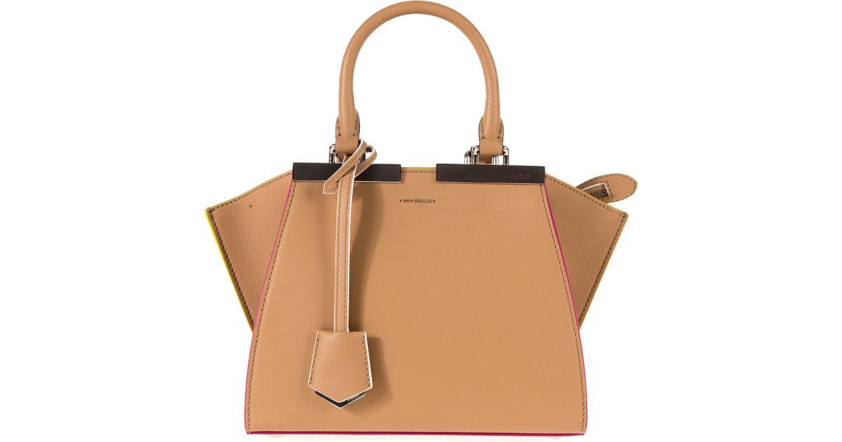 744d16d96731 Lyst - Fendi 3 Jours Bag in Brown