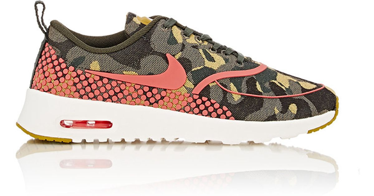 official photos aff41 29539 Lyst - Nike Womens Air Max Thea Jacquard Premium Sneakers