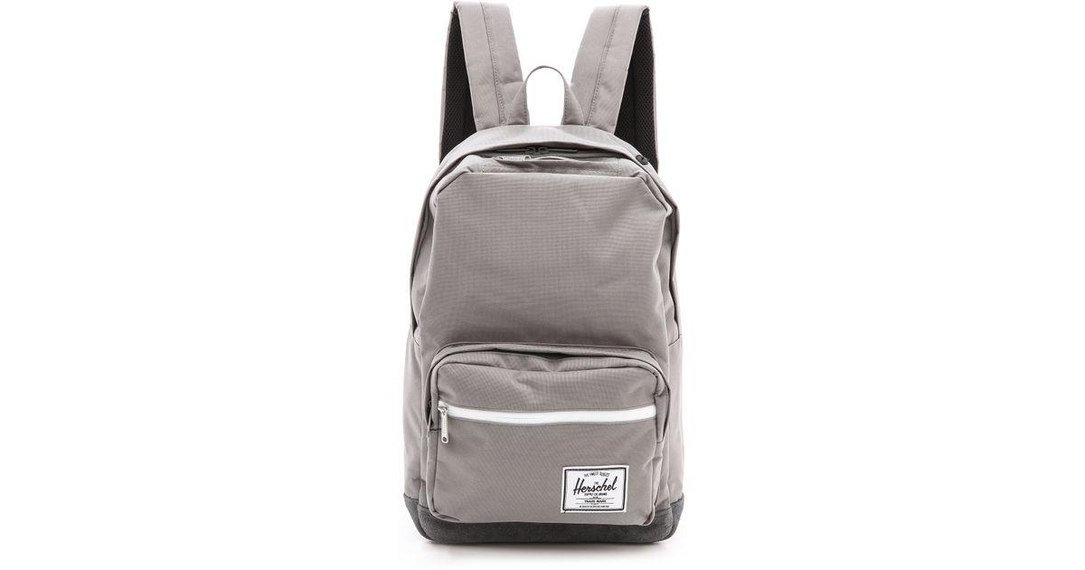 Co Quiz Backpack Pop Gray Lyst Herschel Supply in Grey zqEZHA