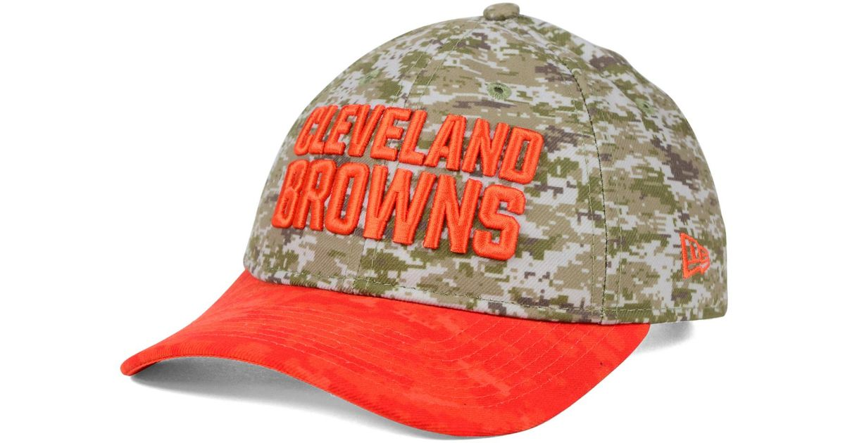 726a4d543 Lyst - KTZ Women s Cleveland Browns Salute To Service 9twenty Cap in Green  for Men