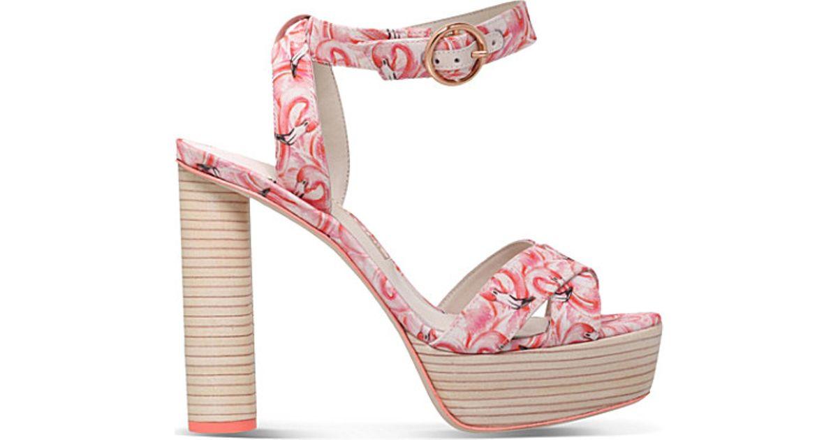 6811755fb66 Sophia Webster Amanda Dreamy Flamingo Platform Sandals in Pink - Lyst