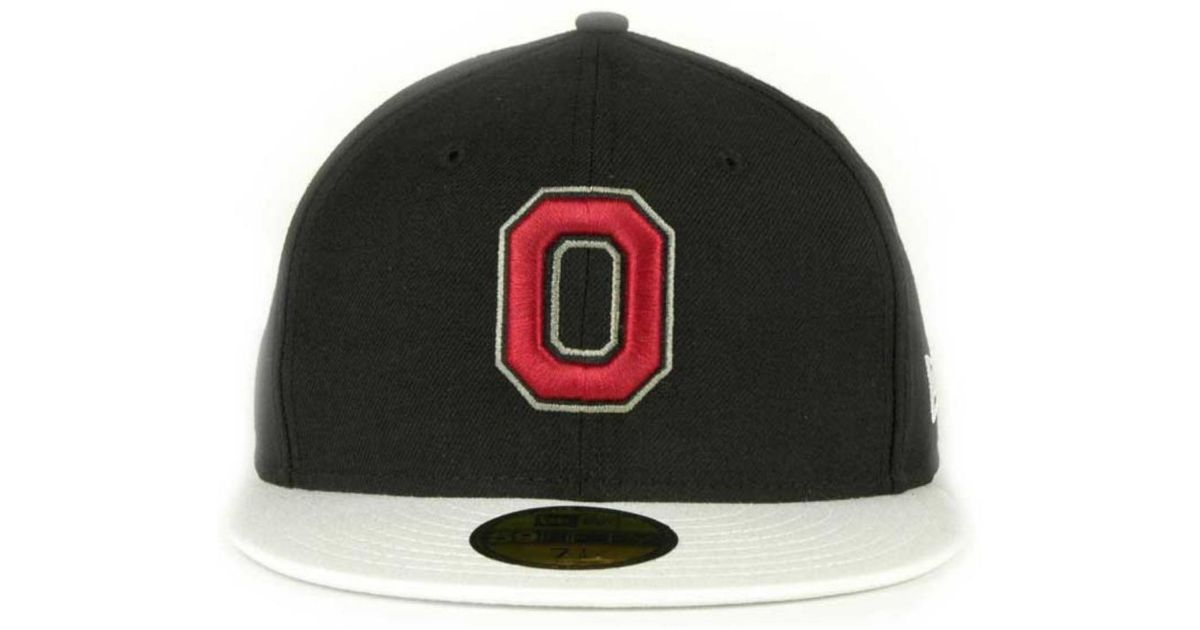 937045be81e Lyst - KTZ Ohio State Buckeyes Ncaa 2 Tone 59Fifty Cap in Black for Men
