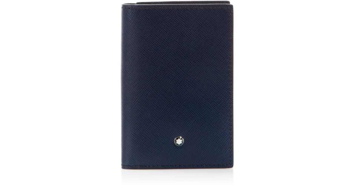 Montblanc Indigo Business Card Holder - Bloomingdale\'s Exclusive ...
