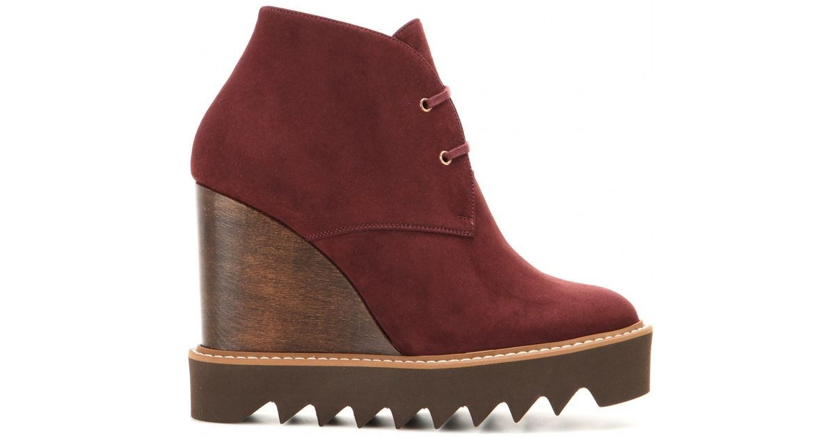 Stella McCartney Vegan Suede Booties cheap sale 2015 clearance 100% authentic many kinds of rKEgH