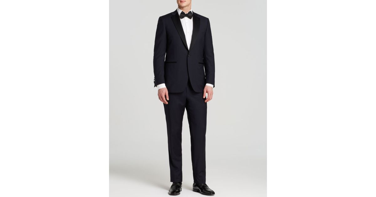 a680d85227f169 Canali Firenze Basic Tuxedo - Classic Fit - Bloomingdale's Exclusive in  Blue for Men - Lyst