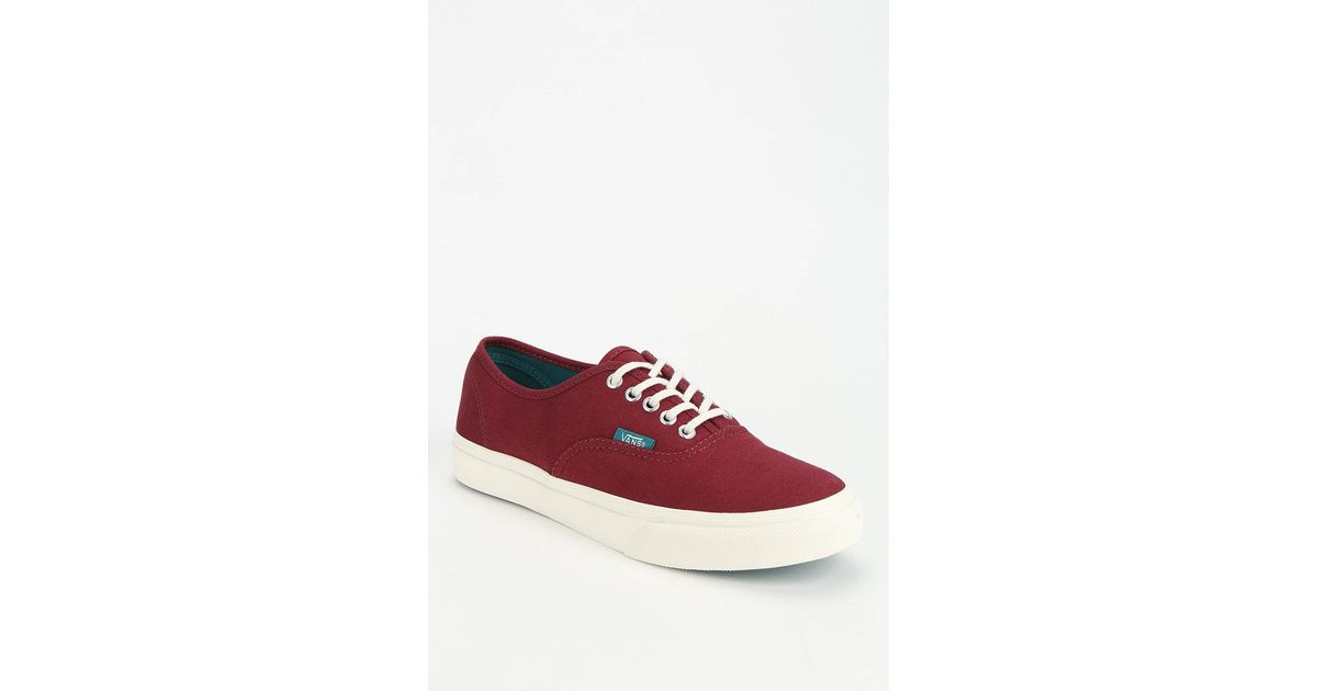 578b946ba4 Lyst - Vans Authentic Slim Pop Low-Top Women S Sneaker in Red