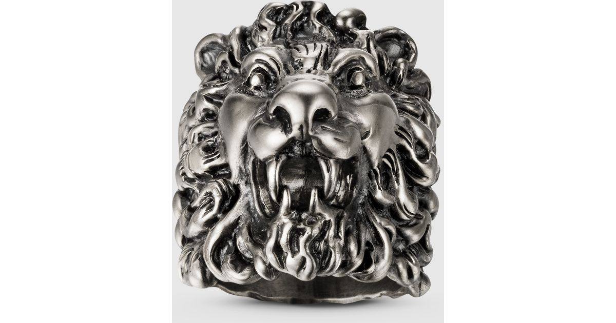ring rings iron solid men tusk quality steel high angels head lions product lion stainless