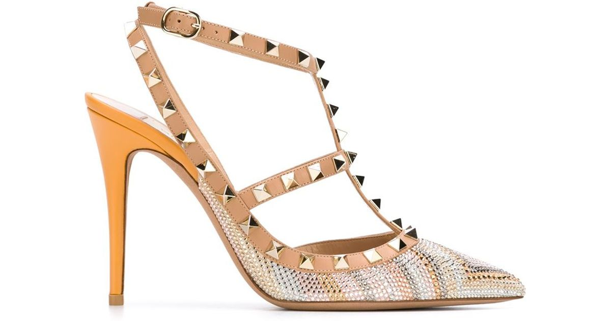 studs embellished pumps - Nude & Neutrals Valentino sJQvvdo