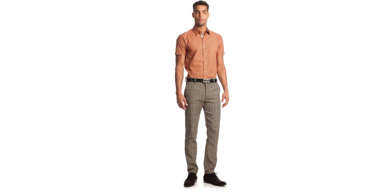 afc198685fe Mr Turk - Brown Clyde Trouser for Men - Lyst