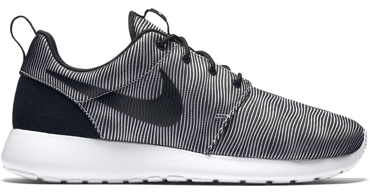Nike Roshe One Premium BlackWhite Wolf Grey