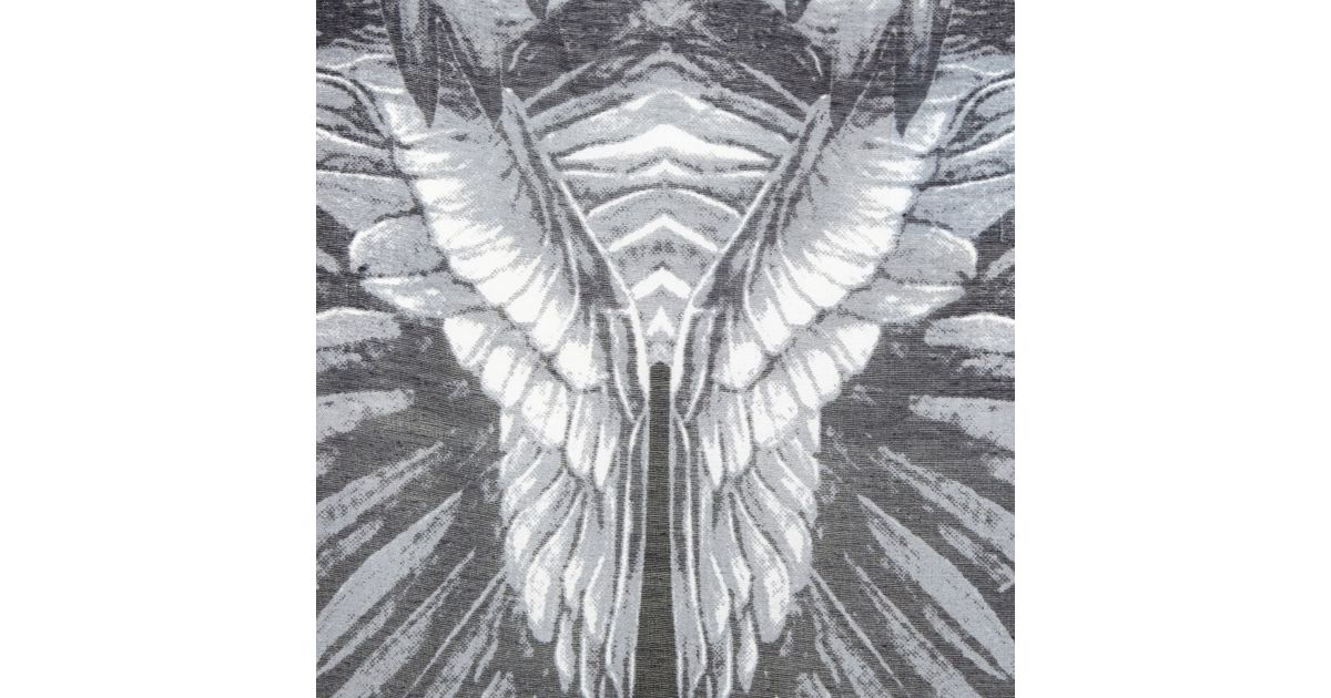 98d913ecd River Island Grey Feather Print Fringed Kimono in Gray - Lyst