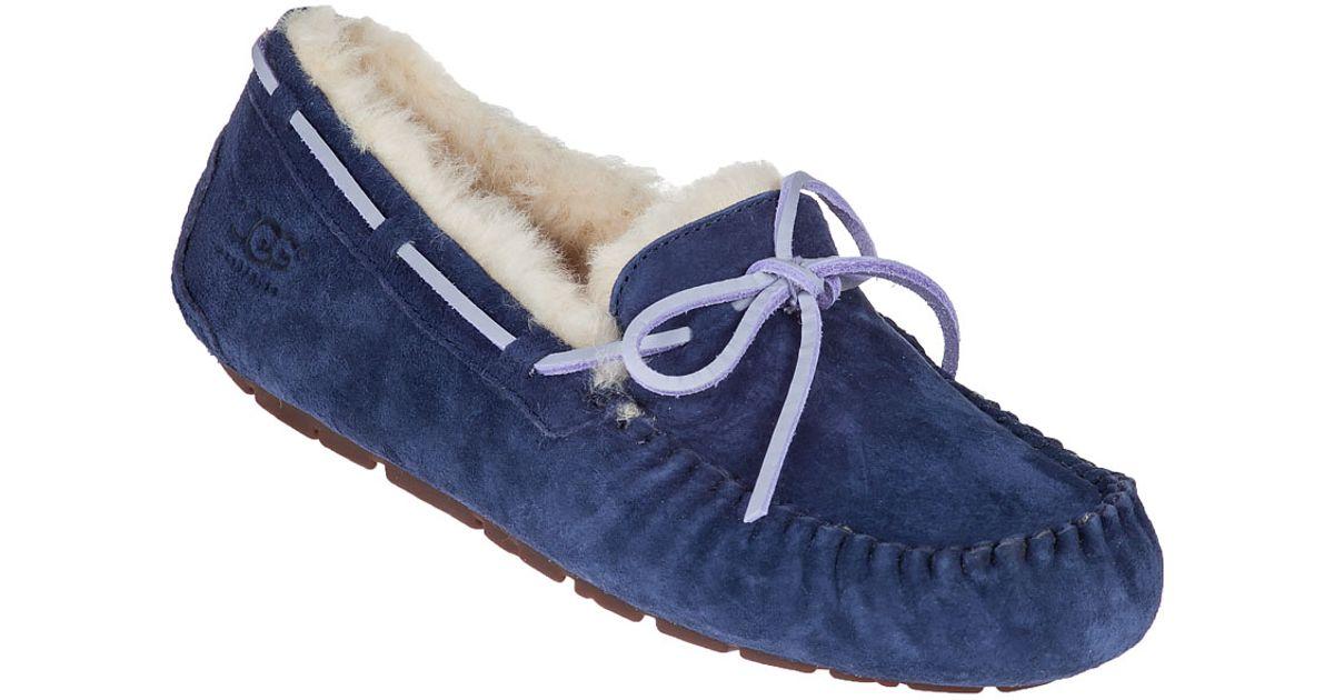blue ugg dakota slipper