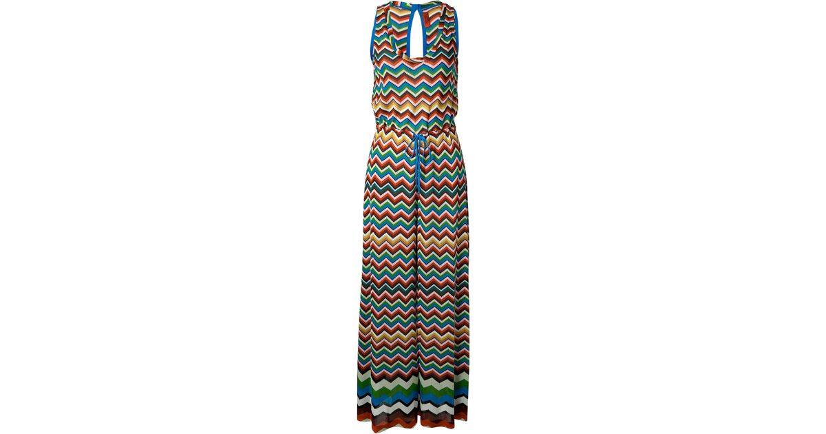 Missoni Zigzag Print Jumpsuit in Black